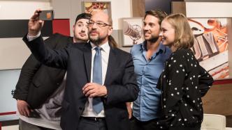 SPD-Kanzlerkandidat im Youtube-Check: Schulz nachts im Freibad