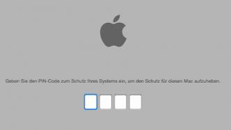 Mac gesperrt