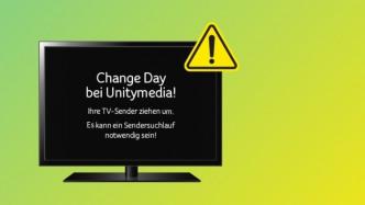 Unitymedia stellt am Dienstag TV-Sendeplätze in Hessen um