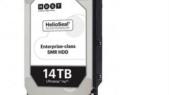 14-TByte-Festplatte mit Helium und SMR