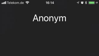 Anonymer Anruf