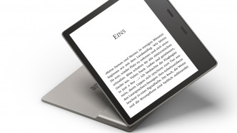 Kindle Oasis: Neuer E-Reader mit größerem Display, ohne Akkuhülle und mit Hörbüchern
