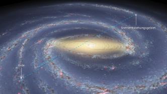 Bislang größte Distanz in der Milchstraße ermittelt