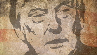 Wandbild Donald Trump