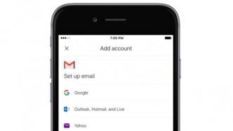 Gmail für iOS spricht mit fremden E-Mail-Anbietern