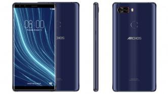 Archos Diamond Omega: Randloses Smartphone mit zwei Dual-Kameras