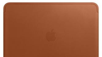 Neues Apple-Zubehör: Lederkleid fürs MacBook und Hüllen für das iPhone X