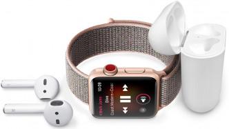 Apple Watch Series 3 mit LTE: Nach maximal sieben Stunden Streaming ist Schluss
