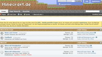 Forum gehackt: Minecraft.de ruft zum Passwortwechsel auf