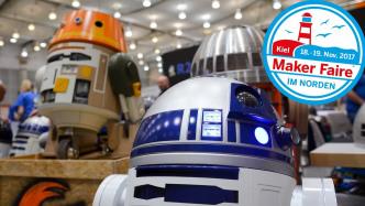 Droiden aus Star Wars vom R2-Builders Club