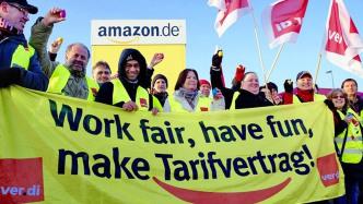 Gewerkschaft Verdi droht Amazon mit Streiks im Weihnachtsgeschäft