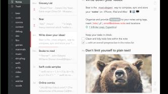 Blick in die Zwischenablage: Kritik an populärem Mac-Editor Bear