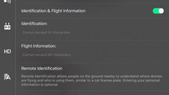 DJI führt freiwillige Funktion zur Identifikation von Drohnen ein