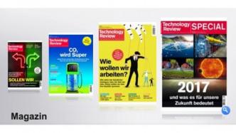 Technology Review. Jahresrückblick auf 2017