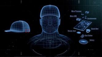 Kopfbedeckung warnt müde Lkw-Fahrer