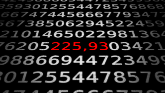 """Zahlen, bitte! """"Erste"""" Atommasse 225,93 von Radium"""