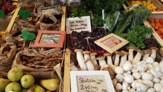 Wochenmarkt, Gemüse