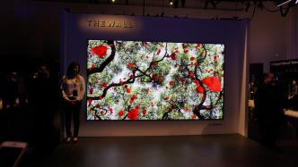 Samsung zeigt 8K-TV und Videoscreen mit Mikro-LEDs