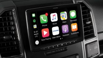 CarPlay-Radio mit 9-Zoll-Bildschirm