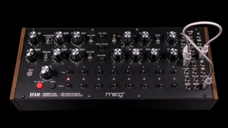 Moog stellt semi-modularen Drum-Computer DFAM vor