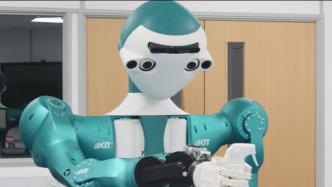 Cobot im Online-Supermarkt