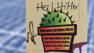 NetzDG: Beiträge der bekannten Street-Art-Künstlerin Barbara gelöscht