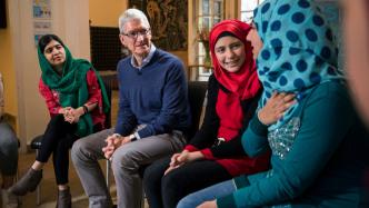 Ausbildung für Mädchen: Apple unterstützt Malala Fund