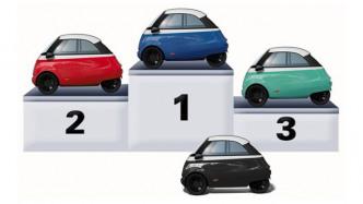 """Elektroauto Microlino: Micro Mobility präsentiert Vorserienmodell seiner """"Knutschkugel"""""""