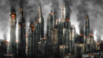 Krieg, Apokalypse, Stadt