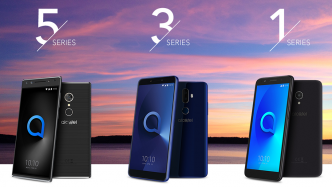 Alcatel-Neustart: Randlose Smartphones ab 90 Euro und Android GO