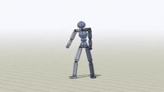 Virtuelle Spiel- und Film-Figuren sollen korrekte Bewegungen durch Beobachten lernen