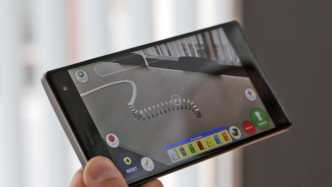 Angetestet: Erstes Project-Tango-Smartphone Lenovo PHAB2 Pro