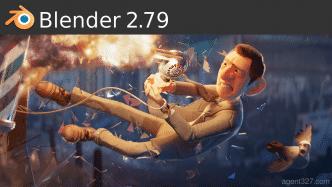 Freie 3D-Software Blender 2.79