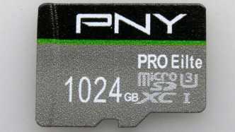 Gefälschte MicroSD-Karte aus China