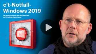 nachgehakt: c't-Notfall-Windows