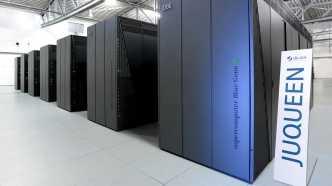 Der Supercomputer Juqueen 2012 am Forschungszentrum Jülich