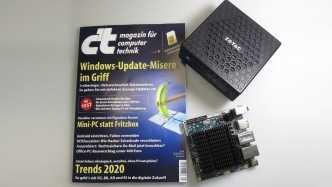 c't 4/2019 - Der Blick ins Heft mit Windows-Updates und IoT-Hacks