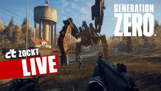 c't zockt LIVE Generation Zero: Teens vs. Robots