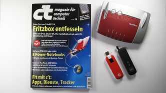 c't 9/2019 - Der Blick ins Heft mit Fritzbox-Tipps, Power-Notebooks und Fitness-Diensten