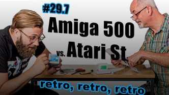 Amiga 500 vs. Atari ST, Apple II & Vectrex  c't uplink 29.7