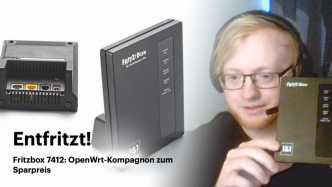 nachgehakt: Fritzbox 7412: OpenWrt-Kompagnon zum Sparpreis