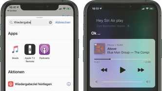Kurzbefehl Siri AirPlay