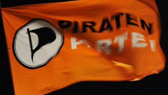 Piratenpartei-Flagge