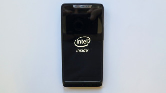Smartphone Intel inside