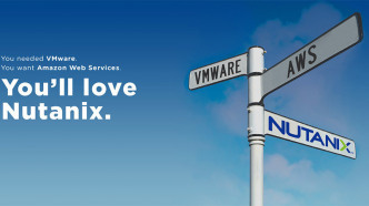 "Plakat: ""You'll love Nutanix"""