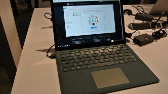 Build 2017: Hands-on mit dem Surface Laptop und Windows 10 S