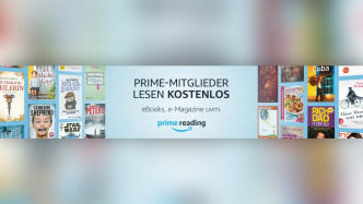 Amazon Prime Reading: Mehr lesestoff für Amazon-Kunden