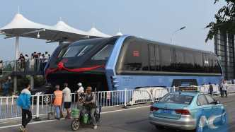 Chinas Transit Elevated Bus