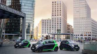 Smart zeigt seine neue ?Electric Drive?-Kollektion