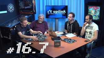 c't uplink 16.6: Linux auf Business-Notebooks, raus aus der Trump-Cloud, Video-Brille Avegant Glyph